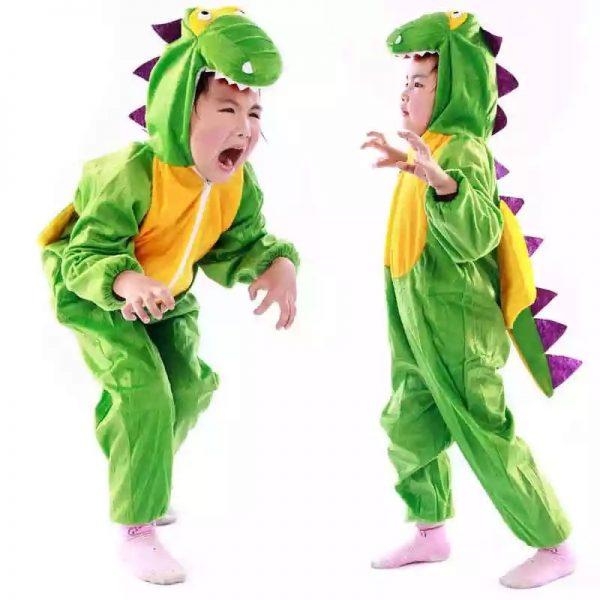 Combinaison Pyjama Dinosaure Enfant