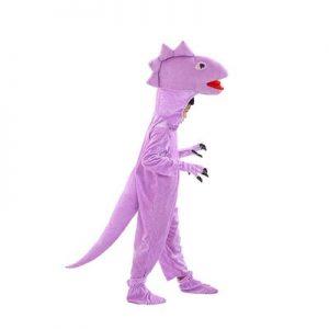 Combinaison Pyjama Dinosaure Rose