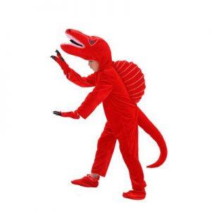 Déguisement Dinosaure Rouge Enfant