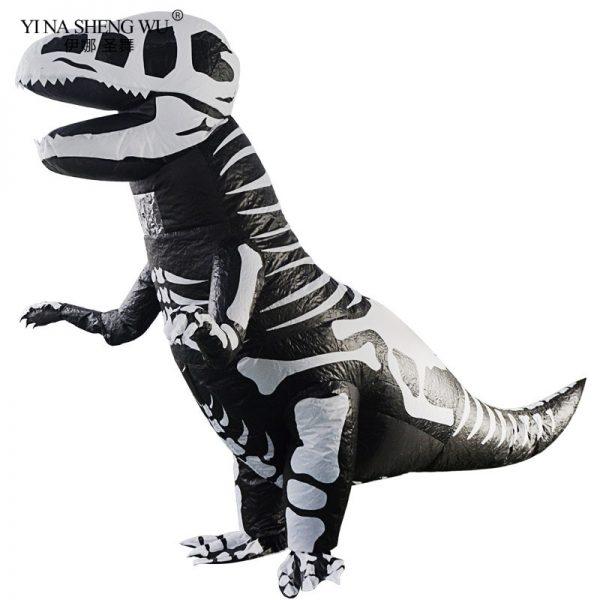 Déguisement Dinosaure T-Rex Squelettique