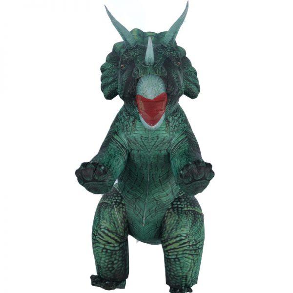 Déguisement Dinosaure Vert Gonflable