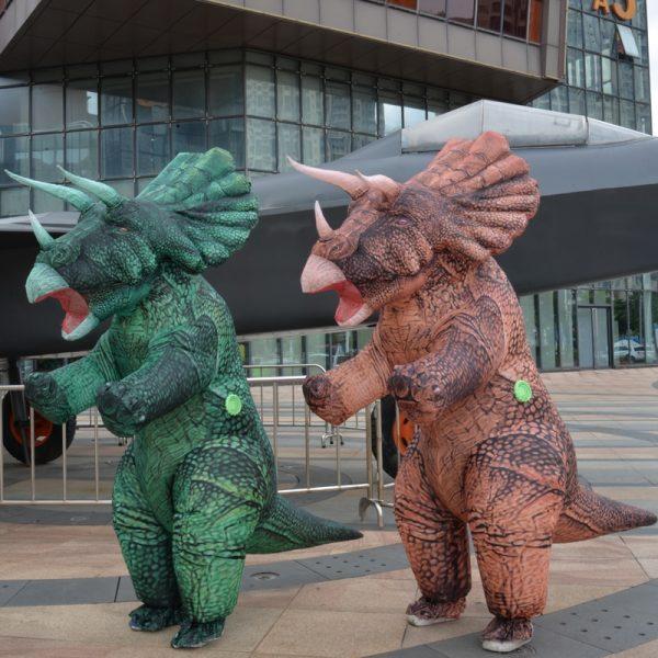 Deguisement Dinosaure Triceratops