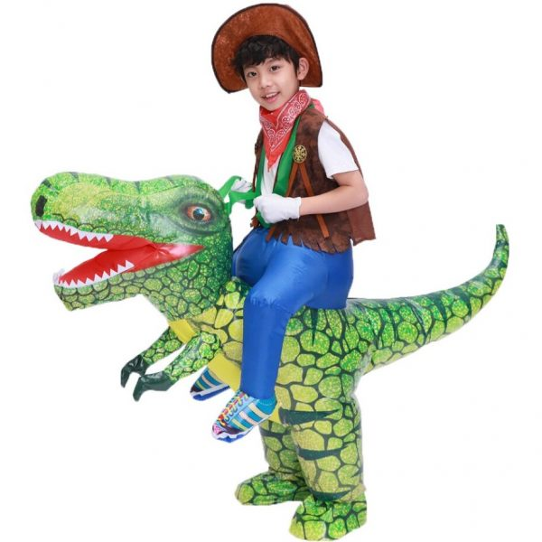 Costume Dinosaure Gonflable Pas Cher