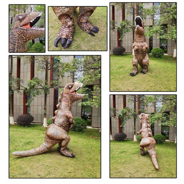 Costume Dinosaure T-Rex Réaliste