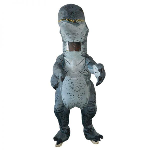 Déguisement Dinosaure Gris
